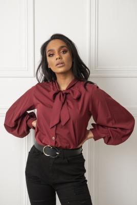 Skjorte - Violet burgunder