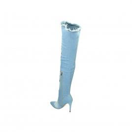 Støvletter - Demi lyseblå
