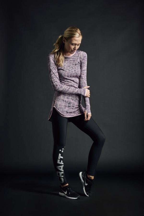 Craft - Active Comfort Dress W lilla/rosa