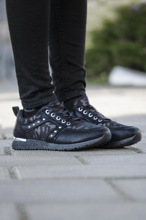 Sneakers - Marlene svart
