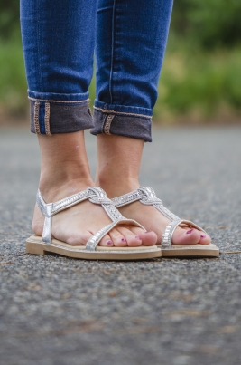 Sandaler - Sadie sølv