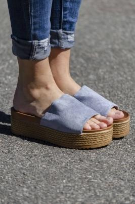 Sandaler - Piper blå