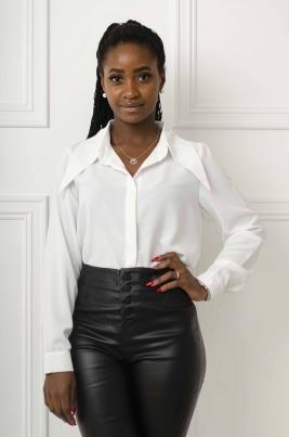 Skjorte - Carmen hvit