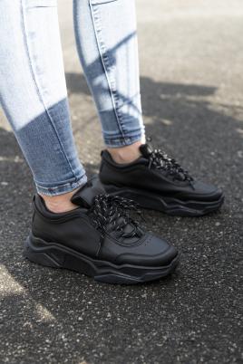 Sneakers - Ylva helsvart