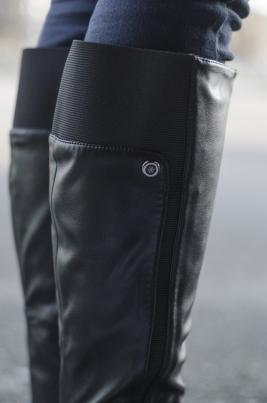 Støvletter - Sina svart