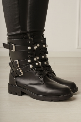 Boots - Carly svart