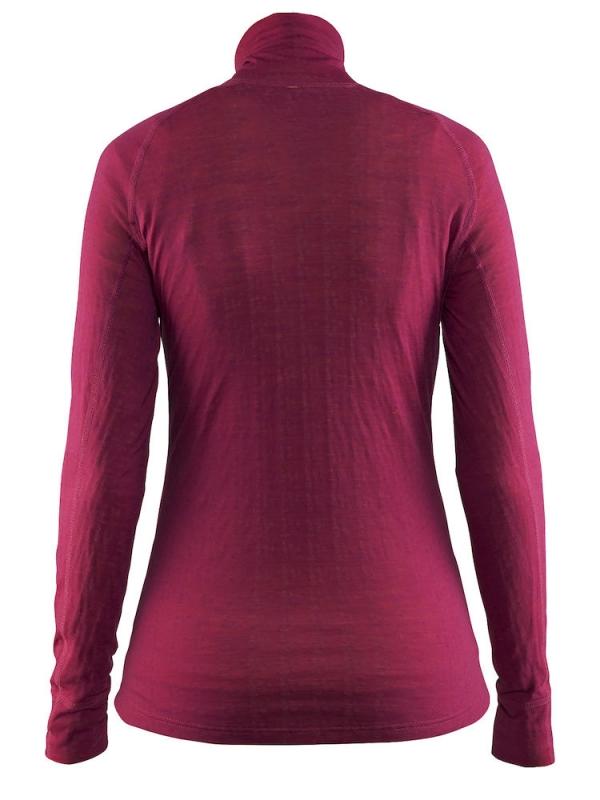 Craft - Warm Wool Nordic Zip Neck Smoothie