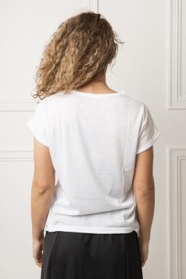 T-skjorte - Ina hvit