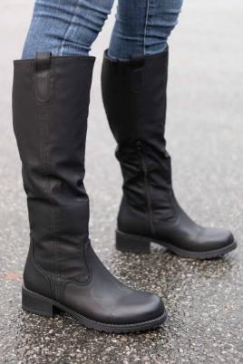 Støvletter - Rikke svart