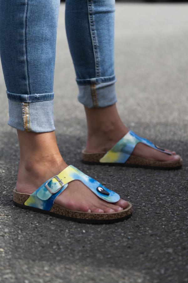 Sandaler - Tia blå