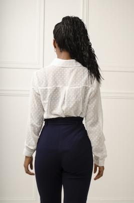 Skjorte - Amanda hvit