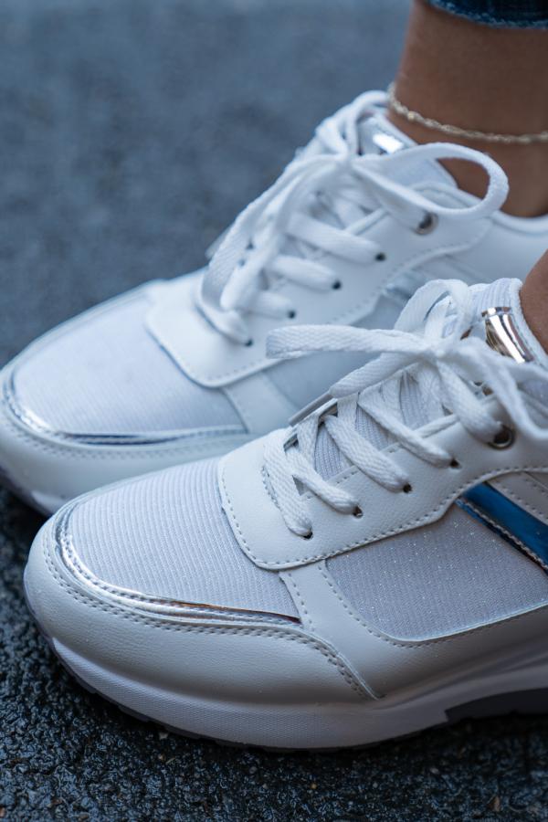 Sneakers - Molly hvit