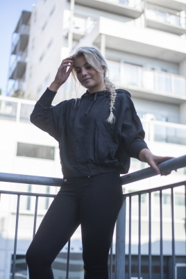 Genser - Marita mørkegrå