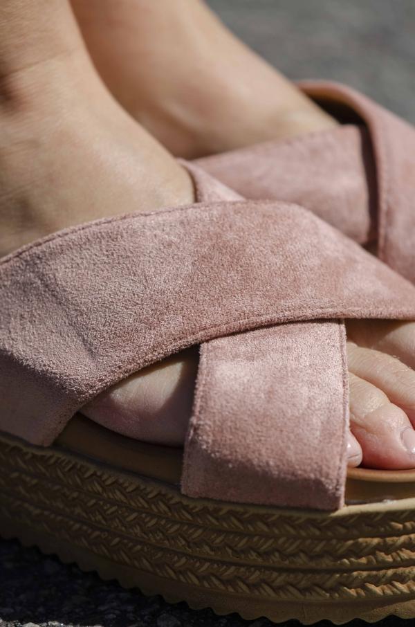 Sandaler - Cora rosa