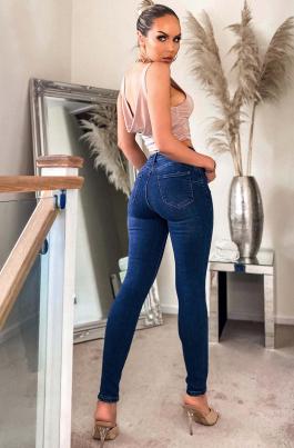Bukse - Paige blå