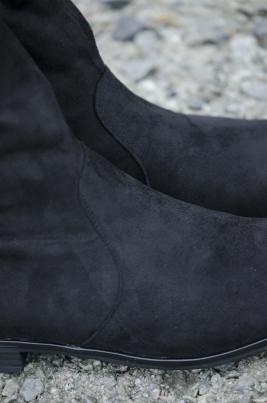 Støvletter - Amelia svart