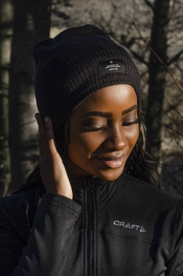 Craft - Urban knit Hat Svart