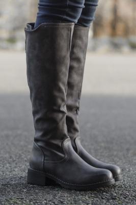 Støvletter - Cornelia grå