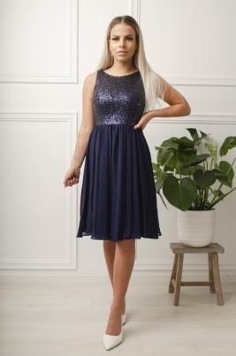 Kjole - Kimberly blå