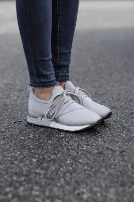 Sneakers - Sofia grå