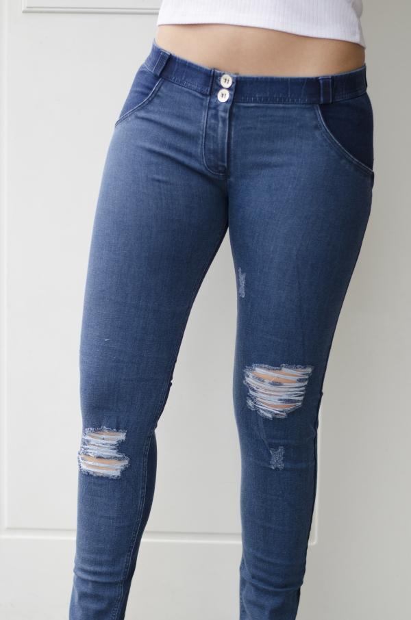 Jeans - Freddy WR.UP® Skinny Mid-Waist Denim Blue Tonal (J0/B)
