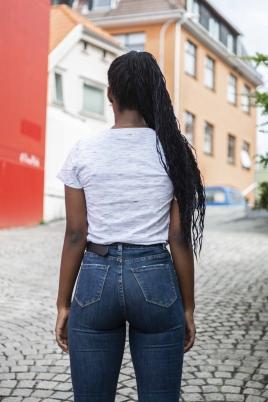 T-Skjorte - Amy hvit