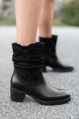 Støvletter - Gina svart