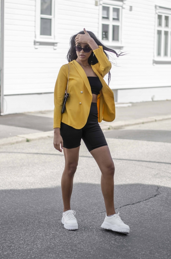 Blazer - Isabell gul