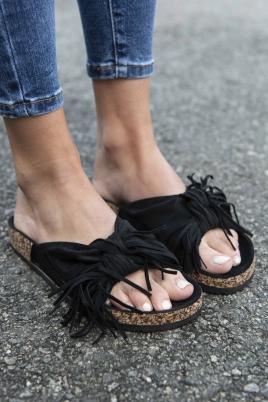 Sandaler - Dina svart