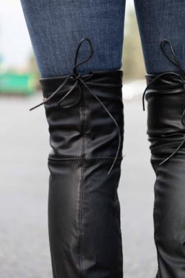 Støvletter - Malena svart