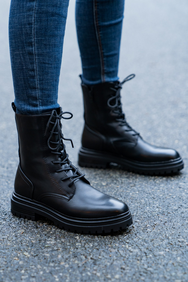 Boots - Alberte svart