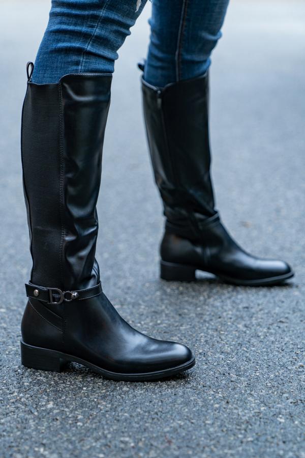Støvletter - Josefine svart