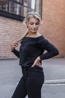 Genser - Ella svart