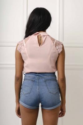 Skjorte - Alma rosa