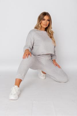 Kosedress - Monique lysgrå