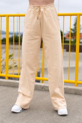 Joggebukse - Essentials straight leg beige