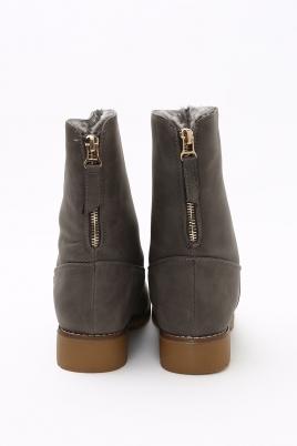 Boots - Thea grå Vinter