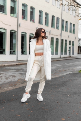 Crop top- North Exclusive Comfy Kylie Creme