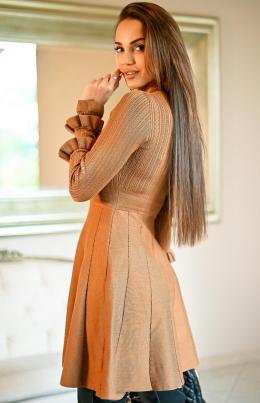 Kjole - Kayla kamel