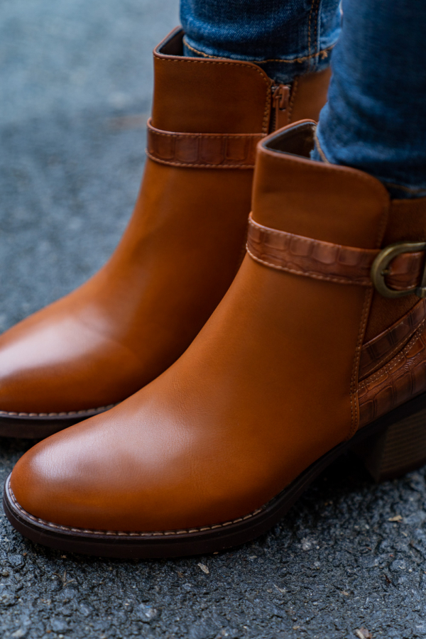 Boots - Olivia camel