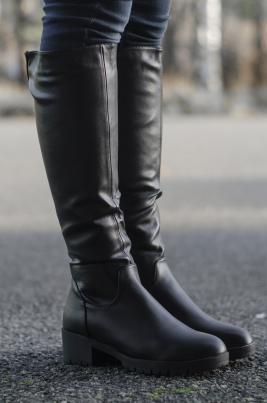 Støvletter - Carol svart