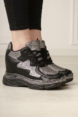 Sneakers - Jenna svart