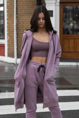 Lang hettegenser - North Exclusive Comfy Kim Lilla