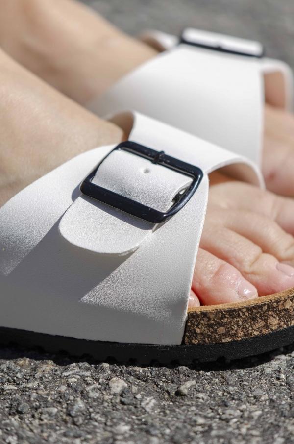 Sandaler - Synne hvit