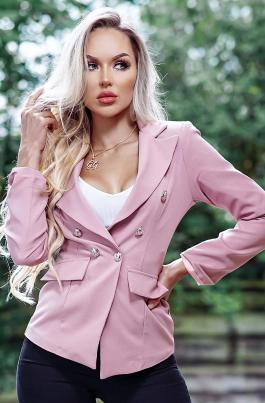 Jakke - Preslie lys rosa