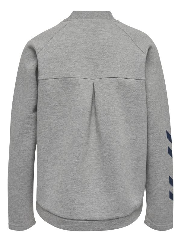 Hummel - HMLKATE zip jacket grå