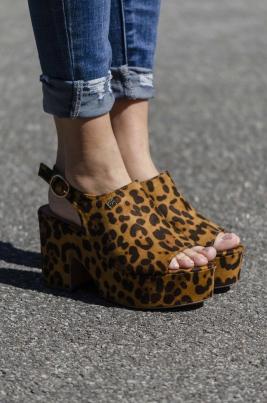 Pumps - Bella leopard