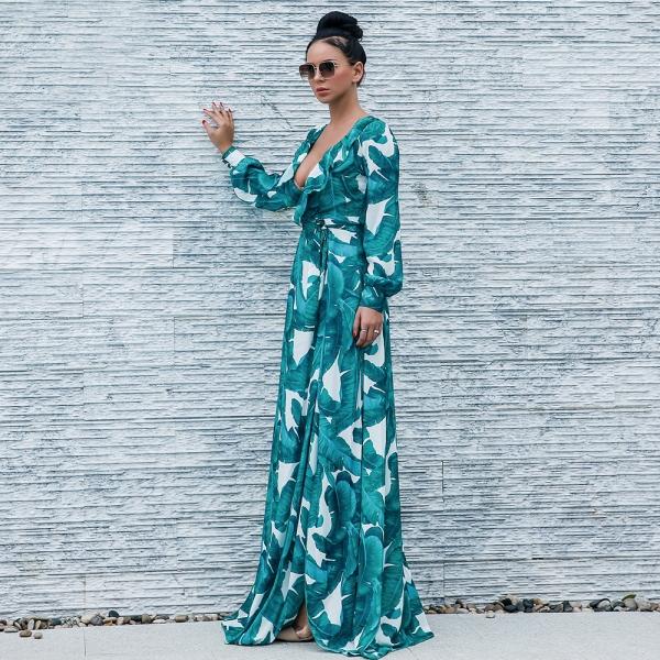 Kjole - North Exclusive Alessi grønn