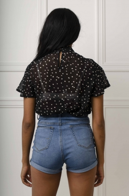 Skjorte - Brianna svart