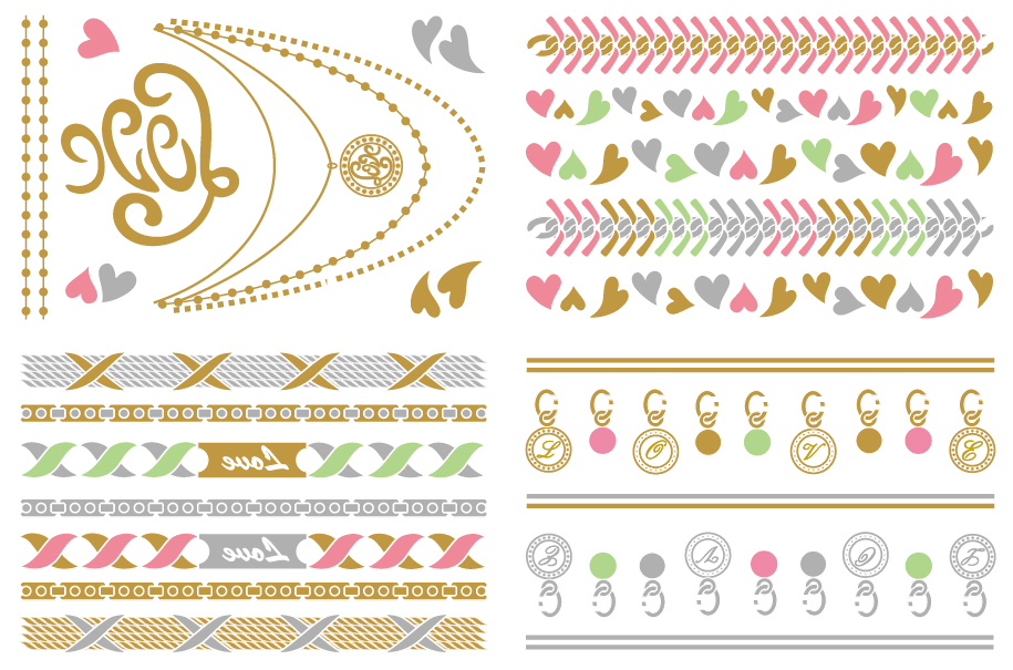 9b4ee538504f Motehus AS - Metalliske tatoveringer - Love Letters 2